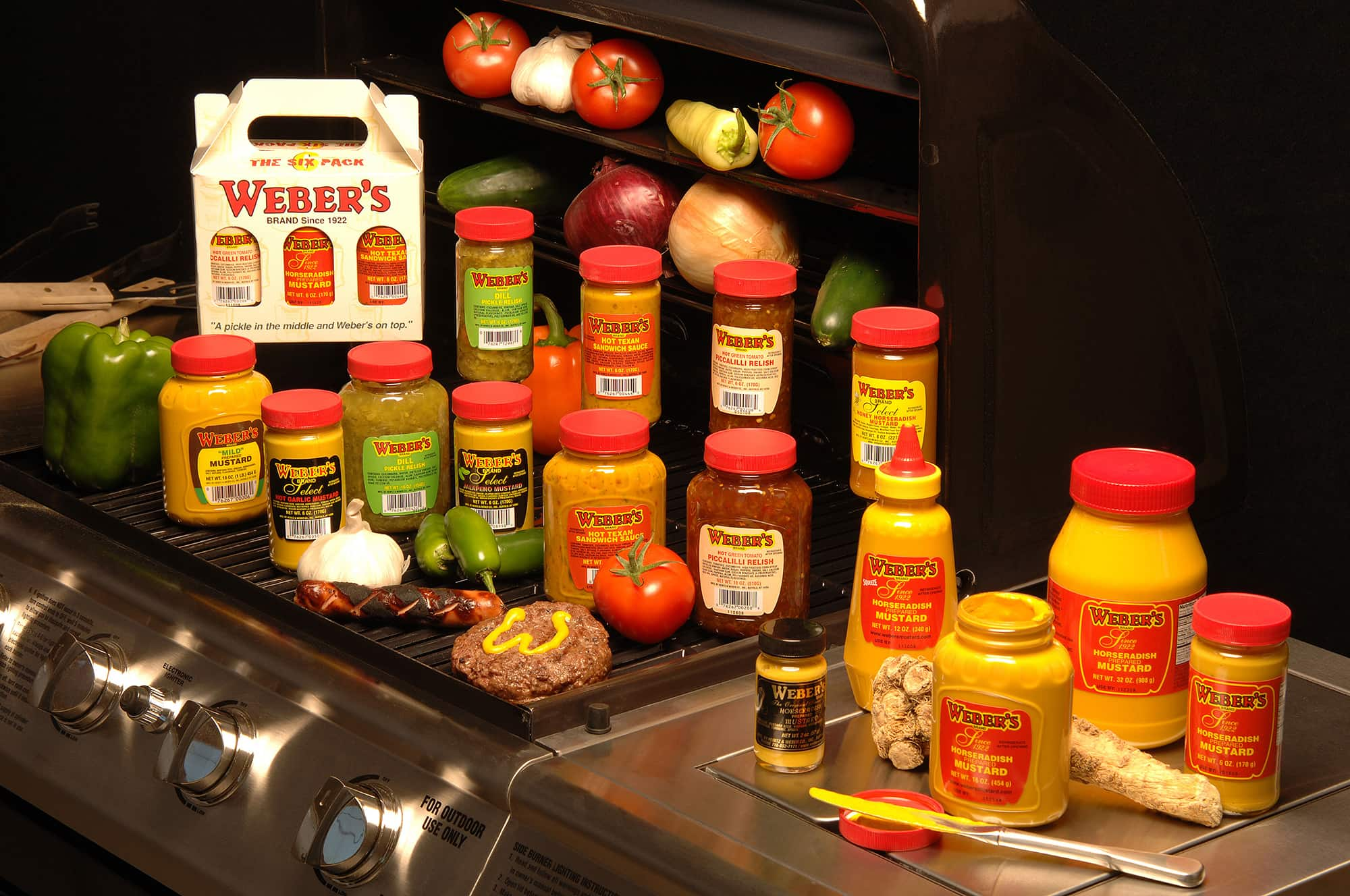 Are You Looking For Weber's????? - Webers Mustard